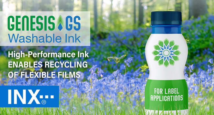 INX International introduces Genesis™ GS  washable inks for Label market