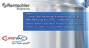 CureVac, Rentschler Ramp up COVID Vax Production