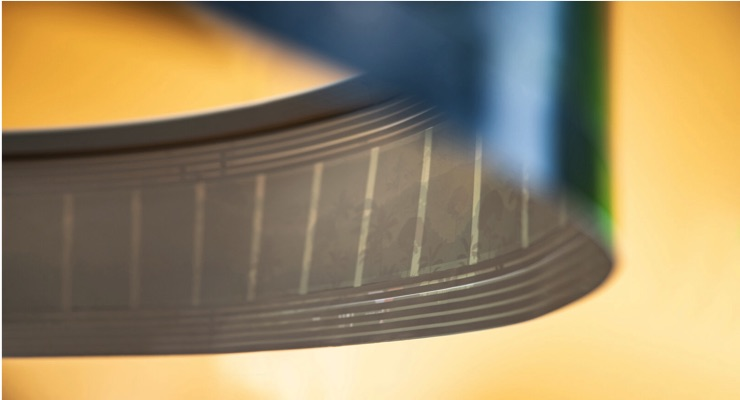 Surround Sound from Lightweight Roll-to-Roll Printed Loudspeaker Paper