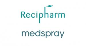 Recipharm and Medspray Complete Joint Venture