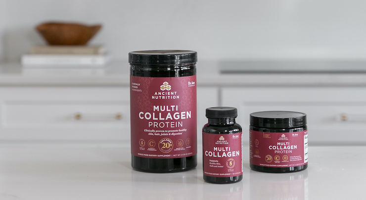 Ancient Nutrition Launches Re-Formulated Multi Collagen Protein