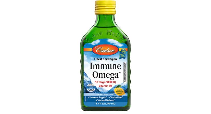 Carlson Launches Immune Omega Formula