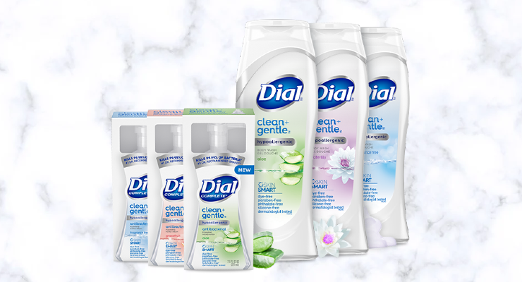Dial Launches Clean + Gentle