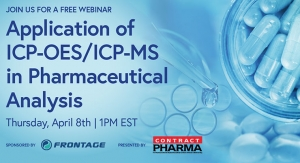 Application of ICP-OES/ICP-MS in Pharmaceutical Analysis