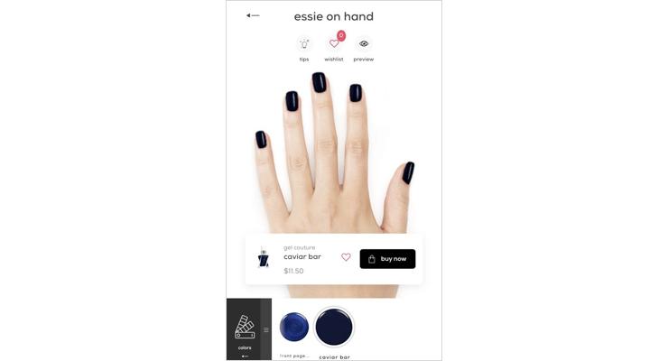 Essie Launches Web-Based Nail Polish Tool