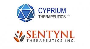 Cyprium, Sentynl Therapeutics Ink Asset Purchase Agreement