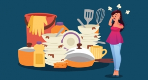 Messy Kitchens Leave Millennial Moms Stressed