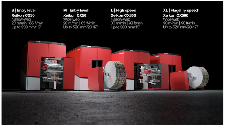Xeikon adds Two New Entry-level Presses to its Label Printing Portfolio