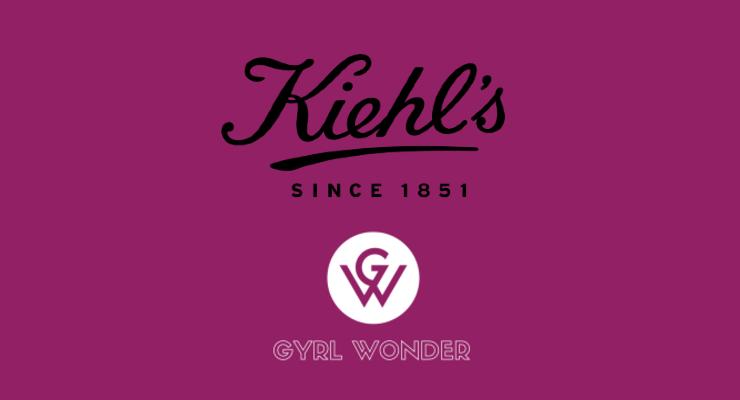 Kiehl's Partners with Gyrl Wonder