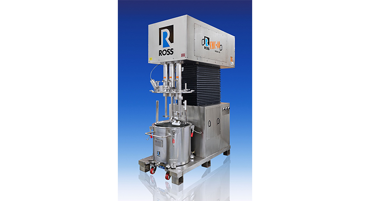 ROSS Offers Triple Shaft Mixers for Hygienic Processes