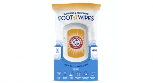 Arm & Hammer Unveils Foot Wipes
