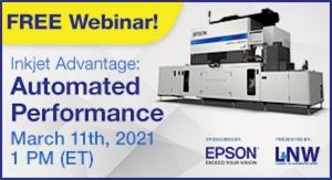 Inkjet Advantage: Automated Performance