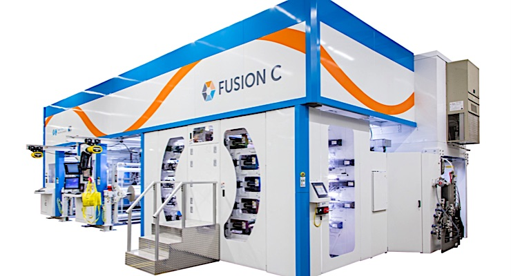 PCMC supports H.S. Crocker with Fusion C flexo press