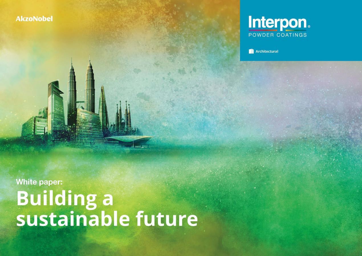 AkzoNobel Powder Coatings Publishes Architectural White Paper on Sustainability