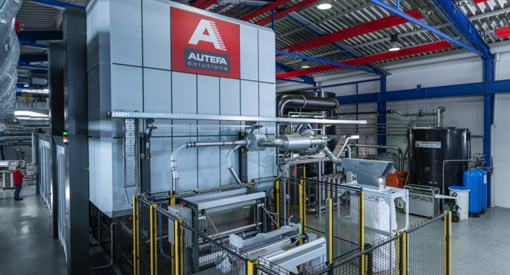Autefa, Lenzing Conduct Successful Spunlace Trials