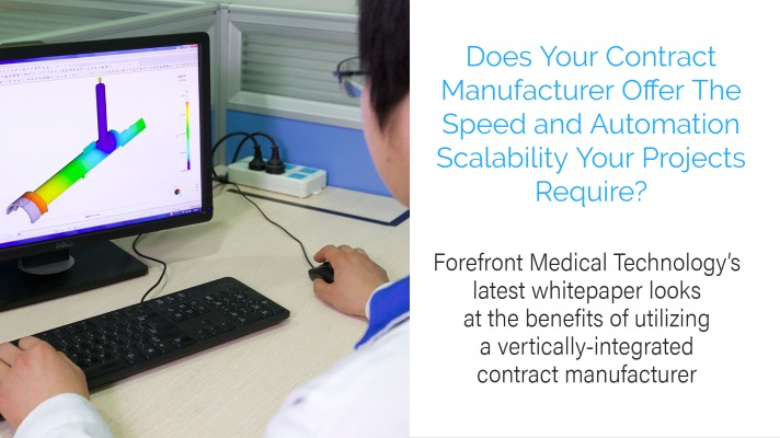 Speed & Scalability: The Advantages of Outsourcing to a Vertically Integrated Contract Manufacturer