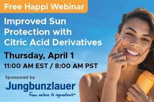 Improved Sun Protection with Citric Acid Derivatives