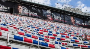 Bristol Motor Speedway Protects Bleachers with Eastman Tetrashield-based Paint