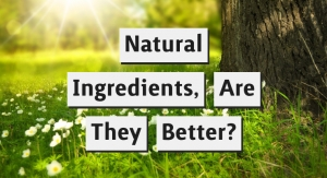 Is It Better to Formulate Cosmetics with Natural Ingredients?