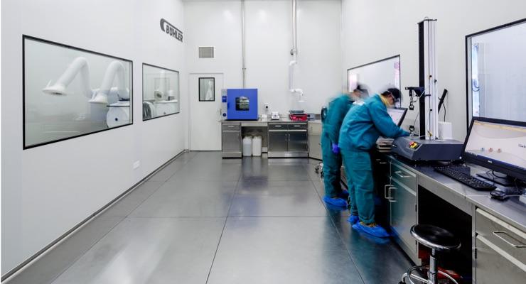 Bühler Fully Operational for Customer Trials