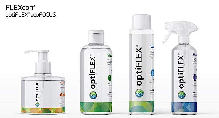 FLEXcon highlighting new eco-friendly label materials