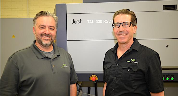 Label Solutions Inc. adds Durst RSC-E UV inkjet label press