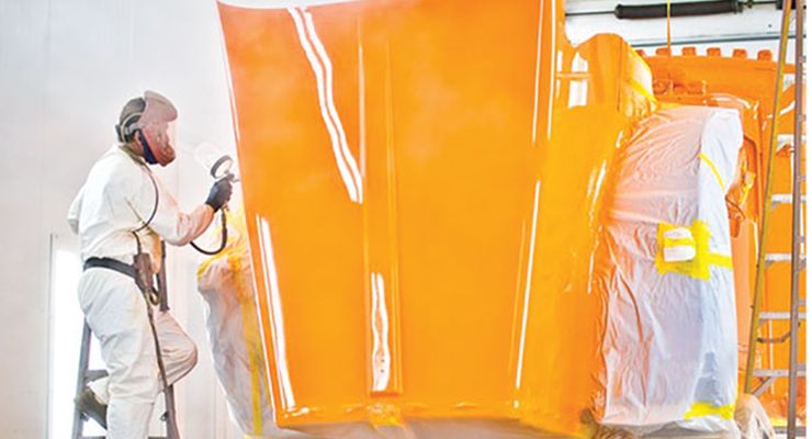 Paint for Commercial Vehicles Goes Greener