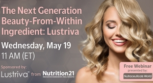 The Next Generation Beauty-From-Within Ingredient: Lustriva