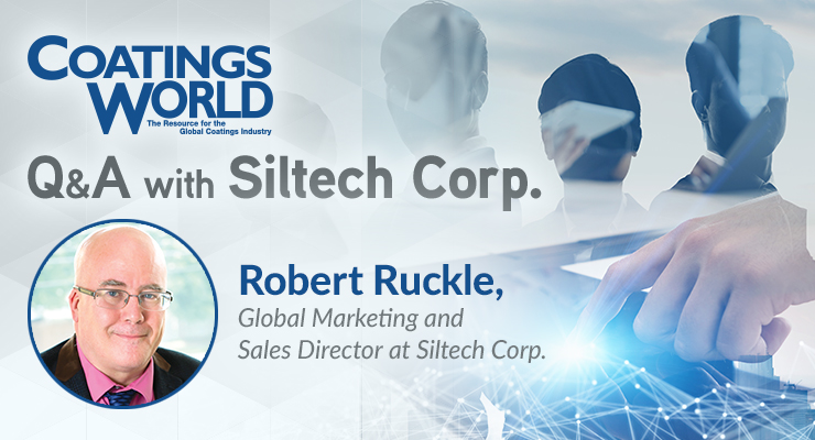 A Coatings World Q&A:  Siltech Corporation