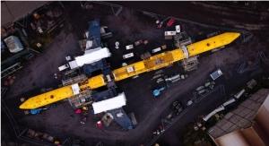 Hempel Protects O2 Tidal Energy Turbine