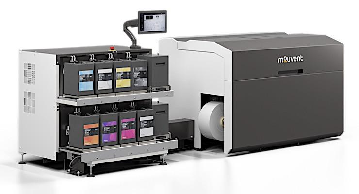 Bobst enhances design of Mouvent LB701-UV digital label press