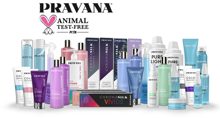 Pravana Joins PETA's Beauty without Bunnies Program