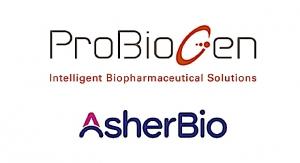 Asher Bio, ProBioGen Ink Development, Mfg. Agreement