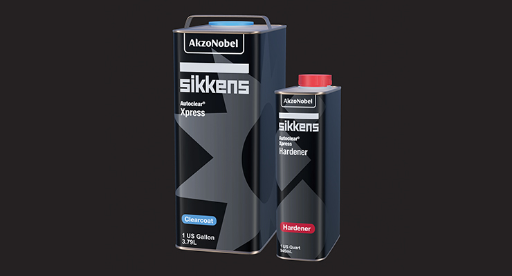 AkzoNobel Vehicle Refinishes Launches Sikkens Clearcoat