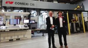 Jiménez Godoy Acquires 2nd Comexi Offset CI8 Press