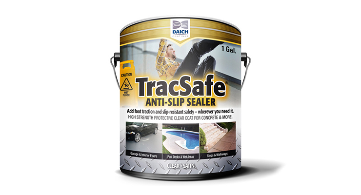 Pool Deck Gets TracSafe Anti-Slip Sealer