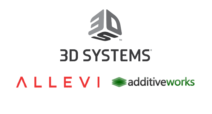 3D Systems Acquires Allevi and Additive Works