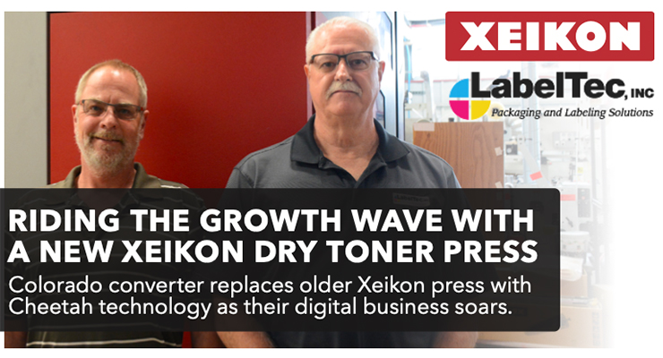 Riding the Growth Wave With a New XEIKON Dry Toner Press