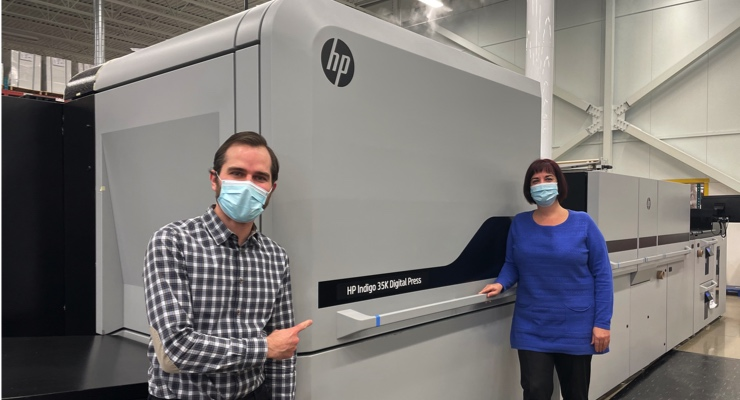 CCL Industries Invests in 100th HP Indigo Press