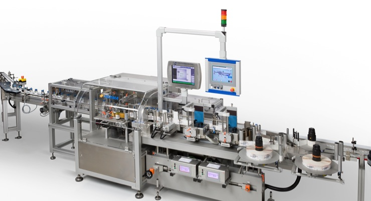 Catalent invests in two Herma US wraparound labeling machines