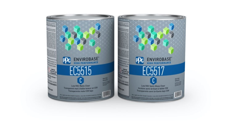 PPG Launches Waterborne Low-gloss Clearcoat System
