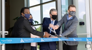 Tergus Pharma Opens New HQ & Commercial Manufacturing Facility