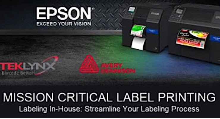 Avery Dennison, Epson and Teklynx tackle labeling efficiency