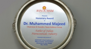 Dr. Muhammed Majeed Named 'Father of Indian Nutraceuticals Industry'