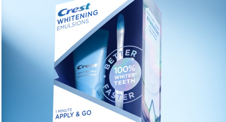 NAD Rules on Claims for Crest Whitening Emulsions Brought By Competitor