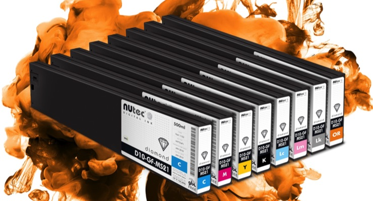 Orange and Light Black NUtec Inks Now Available for Mimaki SS21