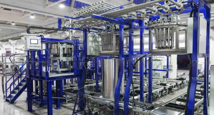 IM GROUP Completes Installation for Leading Manufacturer in Western Europe