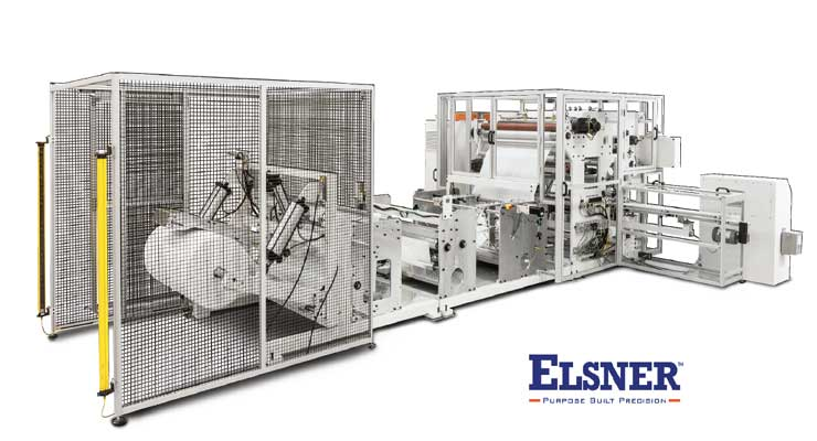 ELSNER, manufacturer of automated converting machinery, helps customers keep up with demands.