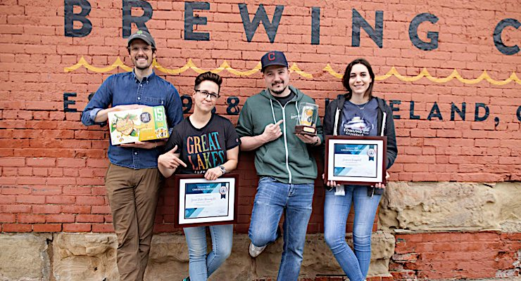Great Lakes Brewing Company celebrates INX Can Design Contest victory