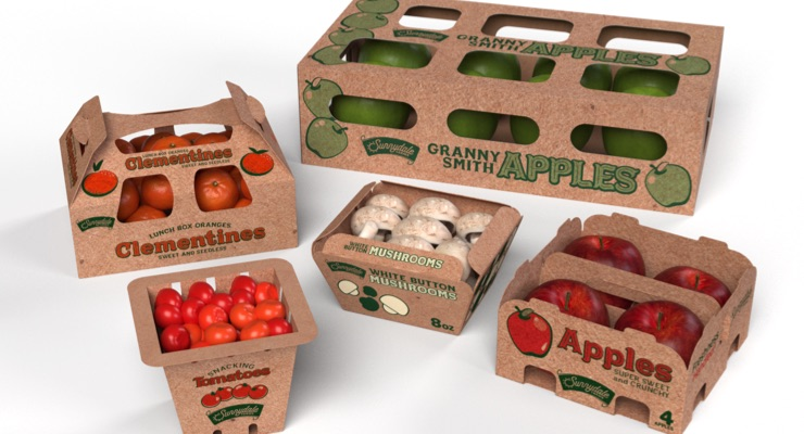 WestRock Introduces EverGrow Fiber-Based Produce Packaging Collection